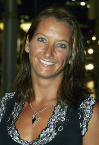 Layne Beachley at the Tap Dogs Opening Night.