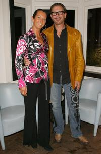 Layne Beachley and Kirk Pengilly at the launch of