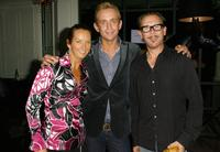 Layne Beachley, Toby Osmand and Kirk Pengilly at the launch of