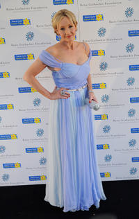 J.K. Rowling at the Raisa Gorbachev Foundation Annual Fundraising Gala Dinner in England.