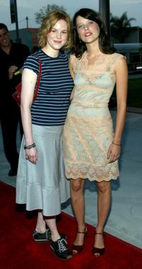 Jeanette Brox and Audrey Marie Anderson at the Fox 2003 Summer Press Tour.