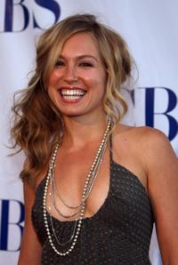 Sarah Carter at the CBS Summer