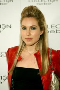 Sarah Carter at the Collection Bebe 2007 fashion show during the Mercedes Benz Fashion Week.