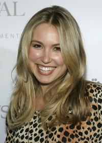 Sarah Carter at the
