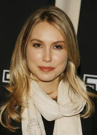 Sarah Carter at the W Magazine's Hollywood Affair to celebrate the 2007 Golden Globes.