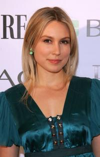 Sarah Carter at the Premiere's Best Performances of 2006 cocktail party.