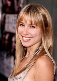 Sarah Carter at the premiere of