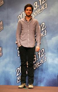 Justin Chatwin at the press conference of