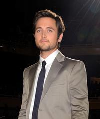 Justin Chatwin at the world premiere of