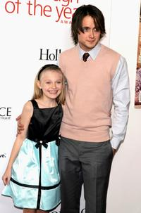 Dakota Fanning and Justin Chatwin at the Hollywood Life Magazine's Breakthrough of the Year Awards.