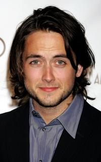 Justin Chatwin at the 14th Annual Elton John Academy Awards viewing party.