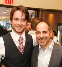 Justin Chatwin and director David S. Goyer at the screening of