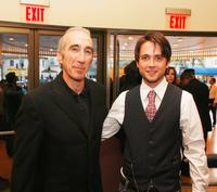 Producer Gary Barber and Justin Chatwin at the screening of