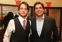 Justin Chatwin and producer Jonathan Glickman at the screening of