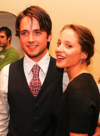 Justin Chatwin and Margarita Levieva at the screening of