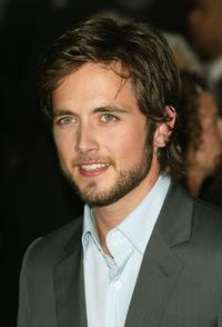 Justin Chatwin at the premiere of