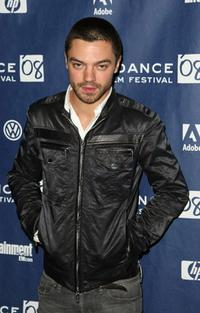Dominic Cooper at the premiere of