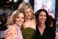 Christina Moore, Missi Pyle and Brooke Dillman at the premiere of