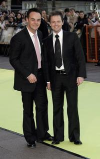 Anthony McPartlin and Declan Donnelly at the world premiere of