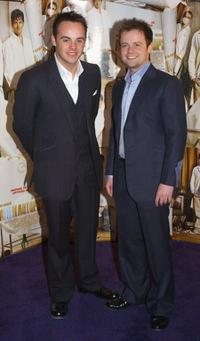 Anthony McPartlin and Declan Donnelly at the Irish premiere of