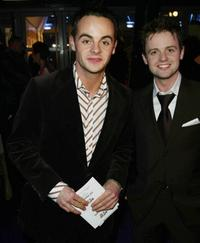 Anthony McPartlin and Declan Donnelly at the Brit Awards.