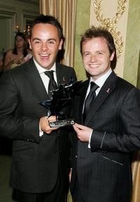 Anthony McPartlin and Declan Donnelly at the TV Quick and TV Choice Awards.