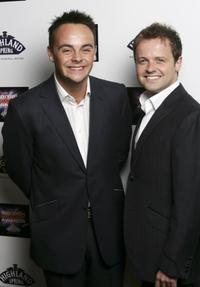 Anthony McPartlin and Declan Donnelly at the British Comedy Awards 2006.