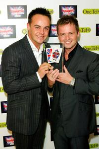 Anthony McPartlin and Declan Donnelly at the British Comedy Awards 2004.