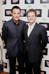 Anthony McPartlin and Declan Donnelly at the British Comedy Awards 2005.