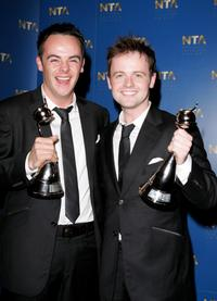 Anthony McPartlin and Declan Donnelly at the National Television Awards 2005.