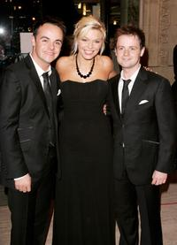 Anthony McPartlin, Kate Thornton and Declan Donnelly at the National Television Awards 2005.