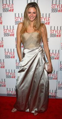 Tamsin Egerton at the Elle Style Awards 2009.
