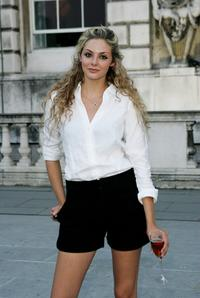 Tamsin Egerton at the drinks reception of