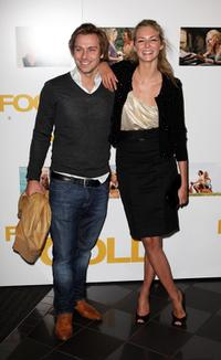 Tamsin Egerton and Guest at the UK premiere of