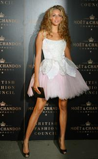Tamsin Egerton at the Moet and Chandon
