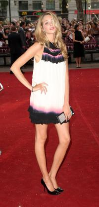 Tamsin Egerton at the premiere of