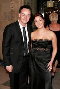 Ant McPartlin and Guest at the National Television Awards.