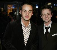 Ant McPartlin at the Brit Awards.