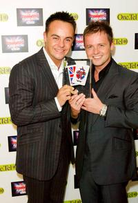 Ant McPartlin and Declan Donnelly at the British Comedy Awards.