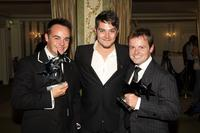 Ant McPartlin, Matt Willis and Declan Donnelly at the 2007 TV Quick and TV Choice Awards.