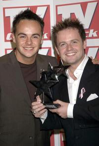Ant McPartlin and Declan Donnelly at the TV Quick and TV Choice Awards.