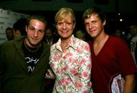Shawn Pyfrom, Bonnie Hunt and Kevin Schmidt at the after party of the premiere of