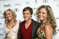 Pamela Noble, Kevin Schmidt and Lauren Storm at the premiere of