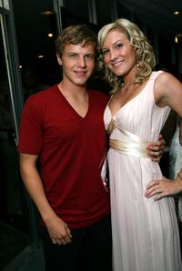 Kevin Schmidt and Pamela Noble at the after party of the premiere of