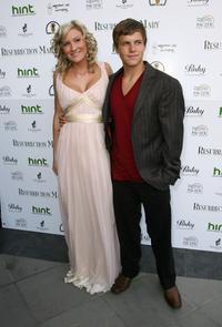 Pamela Noble and Kevin Schmidt at the premiere of