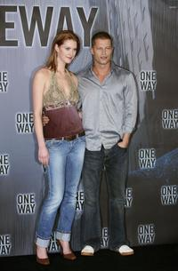 Lauren Lee Smith and Til Schweiger at the photocall of