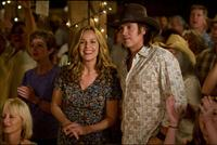 Melora Hardin and Billy Ray Cyrus in
