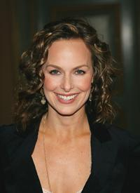 Melora Hardin at the NBC's Winter Press Tour.
