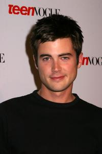 Matt Long at the Teen Vogue Young Hollywood Party.
