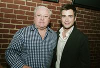Jim Robinson and Matt Long at the after party of the premiere of